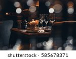 tableware | Shutterstock . vector #585678371