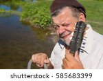 Portrait Of Ukrainian Senior...