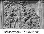 basilica of san lorenzo | Shutterstock . vector #585687704