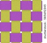 Purple Yellow Fabric Weave...