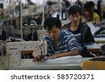 jiujiang china sep26  2013 ... | Shutterstock . vector #585720371