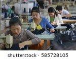 jiangxi china sep 26 2013... | Shutterstock . vector #585728105