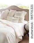 quilt pillow | Shutterstock . vector #585731321