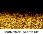 shiny glitter light abstract... | Shutterstock . vector #585745139