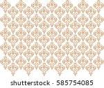 decoration wall paper  vector   Shutterstock .eps vector #585754085