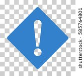 error rhombus vector pictogram. ... | Shutterstock .eps vector #585764801