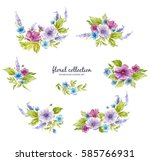 Watercolor Floral Collection...