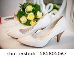 Beautiful Wedding Shoes Stand...