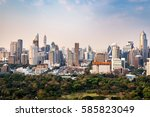 bangkok  thailand   february 14 ... | Shutterstock . vector #585823049