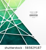 abstract geometric background... | Shutterstock .eps vector #585829187