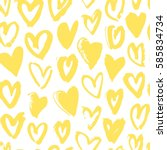 Seamless Pattern With Yellow...