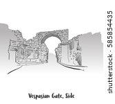 Vaspasian Gate  Side Print...