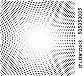 abstract halftone pattern... | Shutterstock .eps vector #585858005