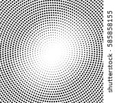 abstract halftone pattern... | Shutterstock .eps vector #585858155