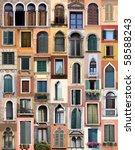 Venice Windows - Fine Art prints