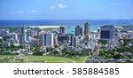 Aerial  Panorama Of Port Louis...