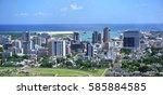 Aerial  Panorama Of Port Louis...