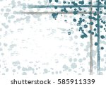 vector drawn background with... | Shutterstock .eps vector #585911339