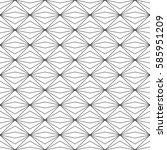 seamless geometric vector... | Shutterstock .eps vector #585951209