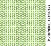 seamless vector pattern with... | Shutterstock .eps vector #585957611