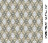 seamless argyle pattern...   Shutterstock .eps vector #585968459