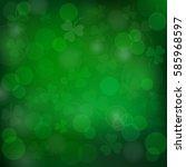 saint patrick's day vector... | Shutterstock .eps vector #585968597