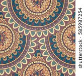 Ornate Floral Seamless Texture...