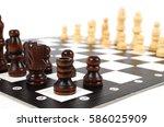 chess | Shutterstock . vector #586025909