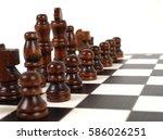 chess | Shutterstock . vector #586026251