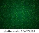 Green  Background For Patricks...