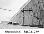 oslo  norway   august 28  oslo... | Shutterstock . vector #586031969