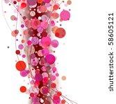 vector abstract background | Shutterstock .eps vector #58605121