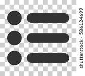 items vector pictogram....