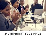 Small photo of Diverse People Clapping Hands Conference