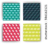 geometry  pattern  | Shutterstock .eps vector #586162121
