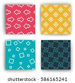geometry  pattern  | Shutterstock .eps vector #586165241