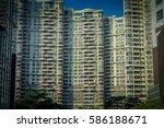 shenzen  china   29 january ... | Shutterstock . vector #586188671