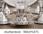 Traditional Silver Coffee Cup...