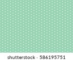 polka dot pattern vector.... | Shutterstock .eps vector #586195751
