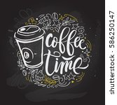 """""""coffee time"""" hipster vintage... 
