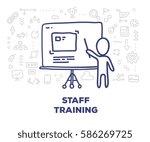 vector creative illustration of ... | Shutterstock .eps vector #586269725