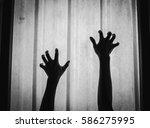 creepy hands crawling   Shutterstock . vector #586275995