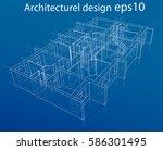 3d rendering vector... | Shutterstock .eps vector #586301495