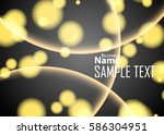 orange abstract template for... | Shutterstock .eps vector #586304951