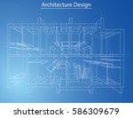 3d rendering vector... | Shutterstock .eps vector #586309679