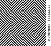 vector seamless pattern.... | Shutterstock .eps vector #586323719