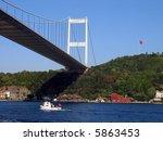 fatih sultan mehmet bridge... | Shutterstock . vector #5863453