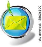an illustration of a web button | Shutterstock . vector #58636900