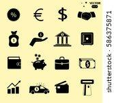 money icon | Shutterstock .eps vector #586375871