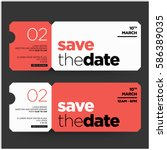 Save The Date Minimalist Moder...